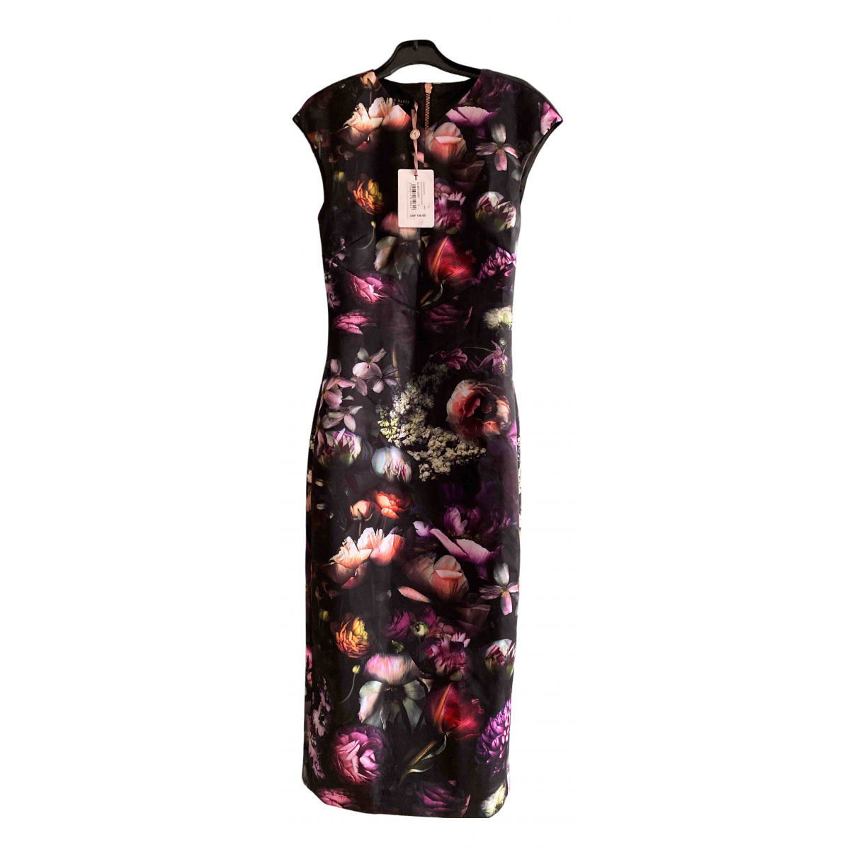 Ted Baker \N Anthracite dress for Women 34 FR
