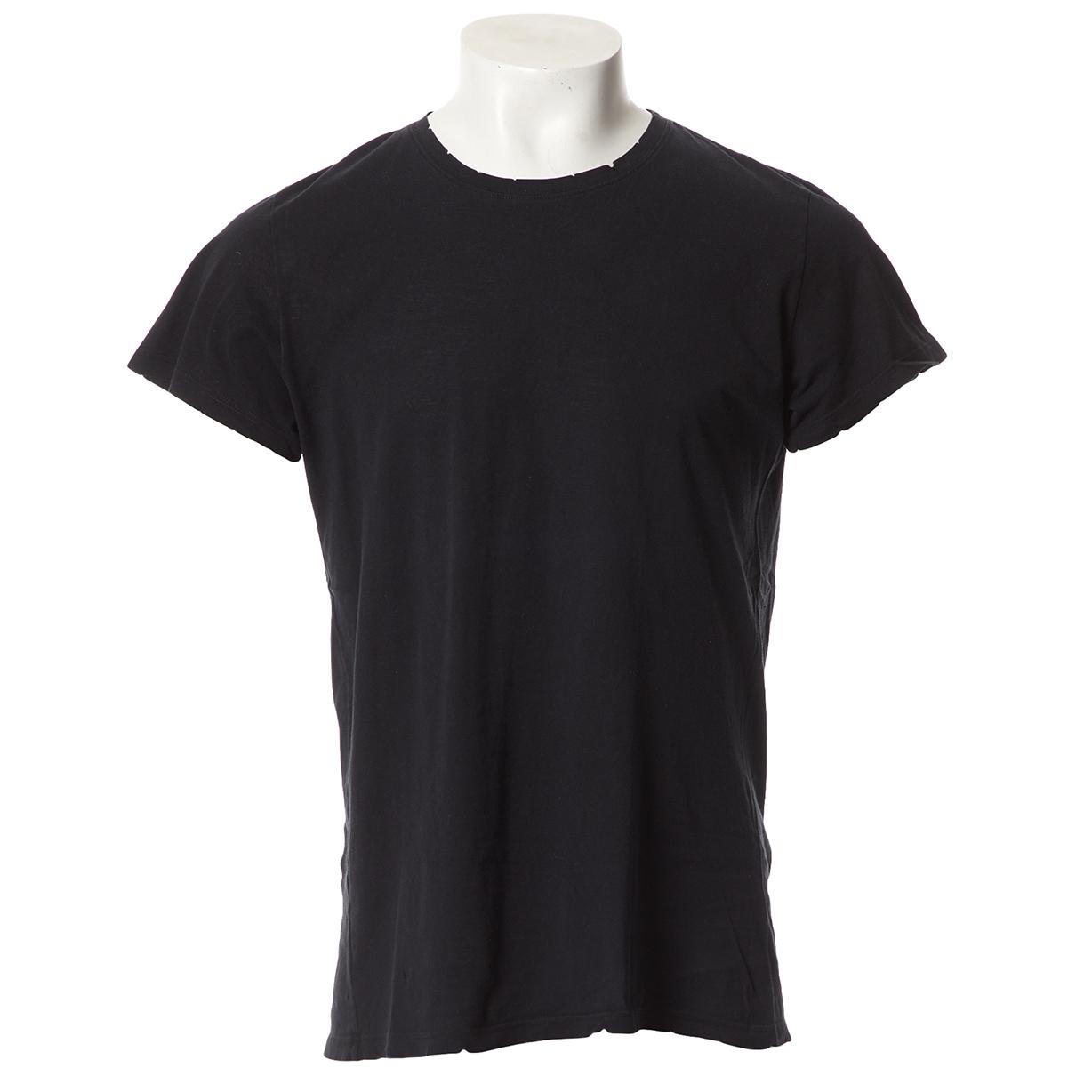 Balmain \N T-Shirts in  Schwarz Baumwolle