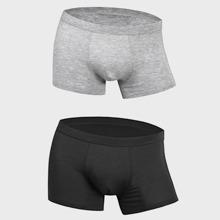 Maenner 2pcs Boxer Unterhosen