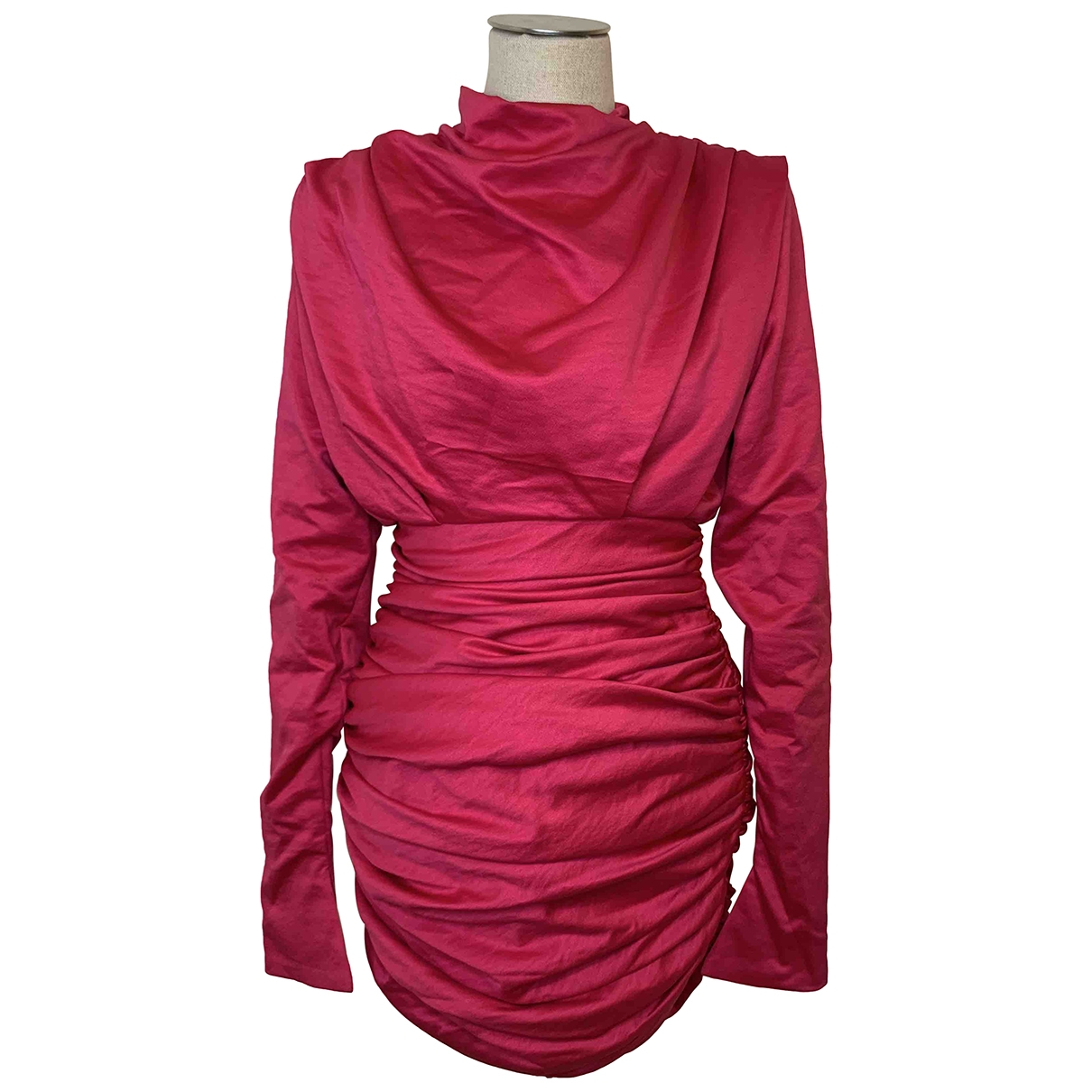 House Of Cb \N Kleid in  Rosa Polyester