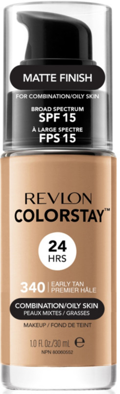 ColorStay Makeup For Combo/Oily Skin - 340 Early Tan