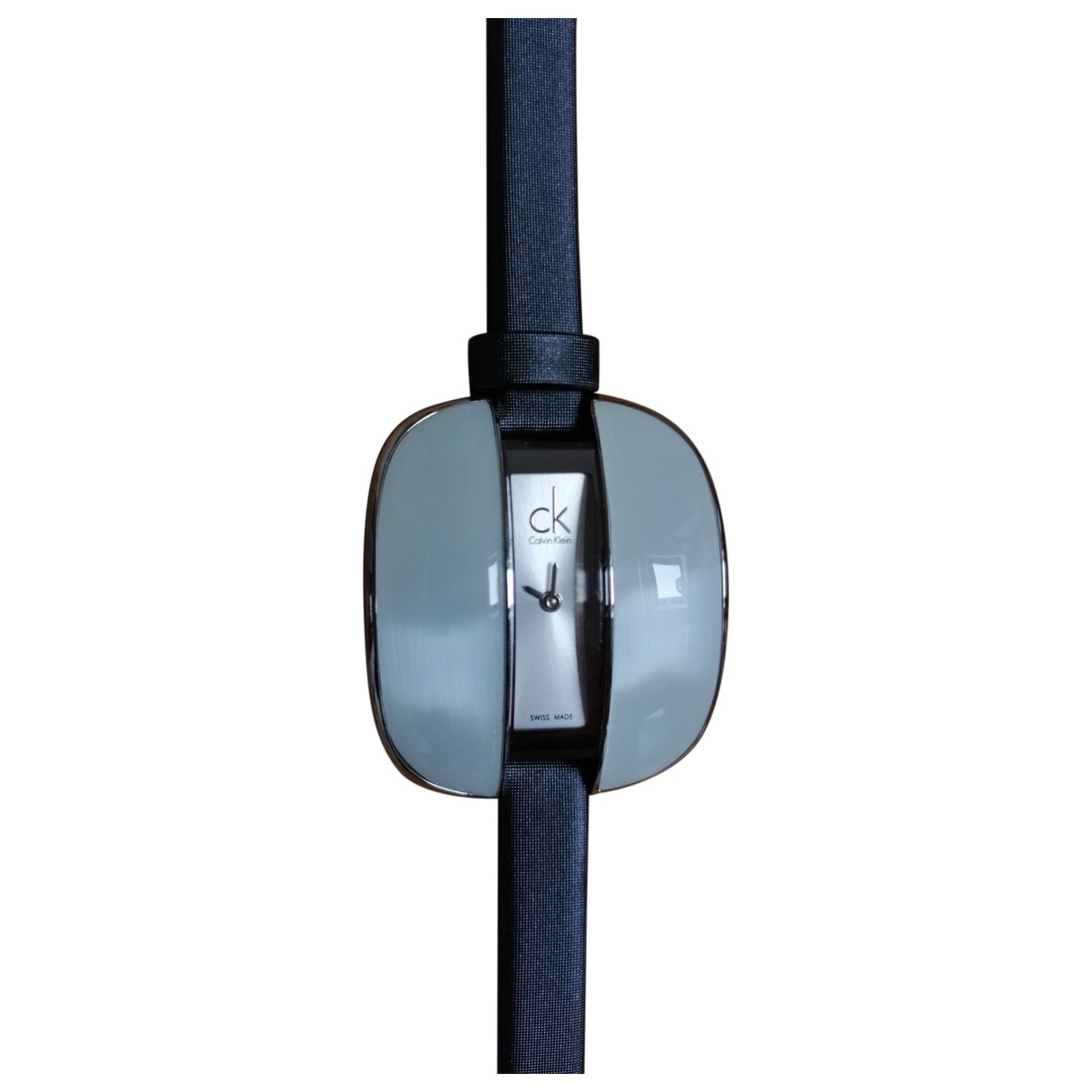 Calvin Klein \N Grey Steel watch for Women \N