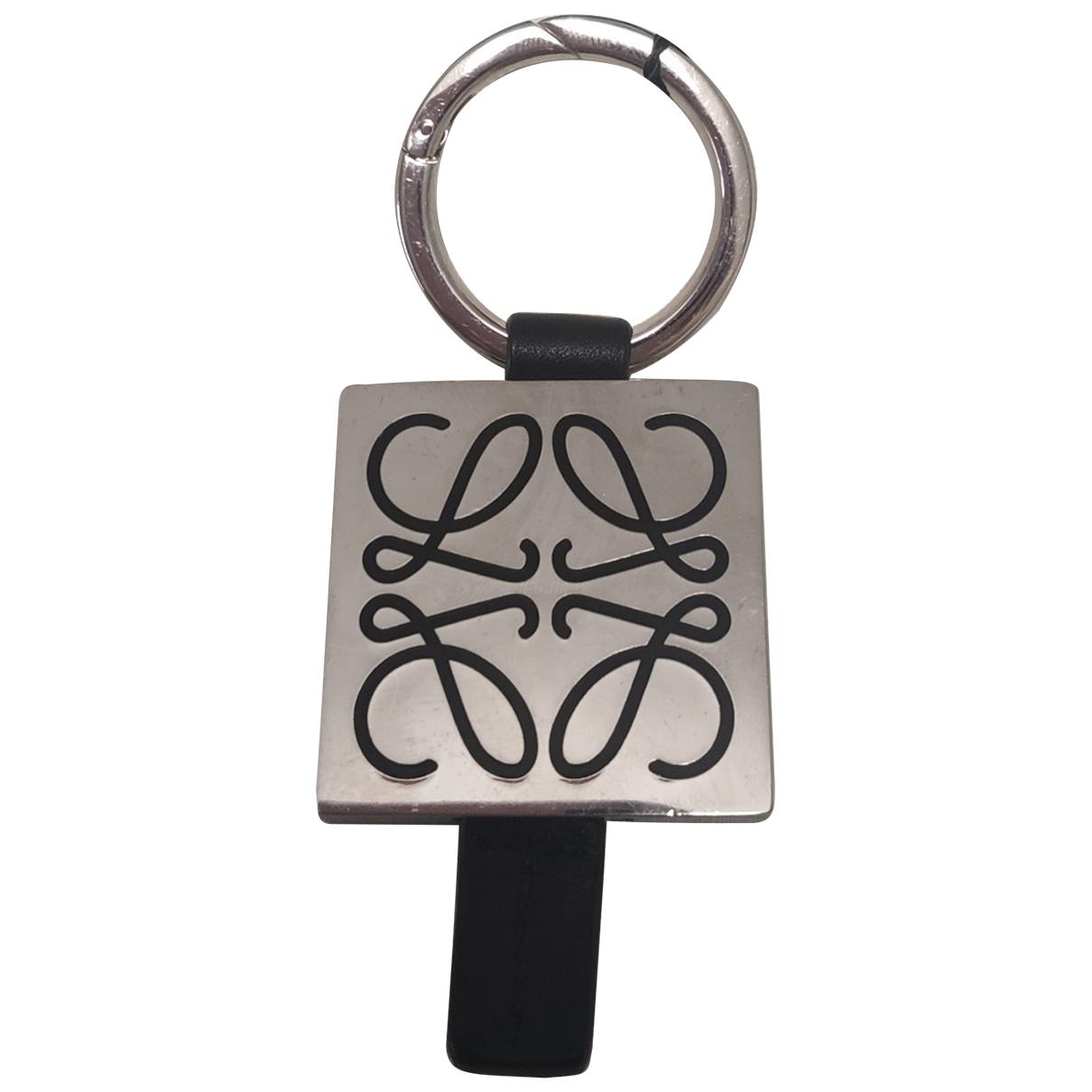 Loewe \N Kleinlederwaren in  Metallic Leder