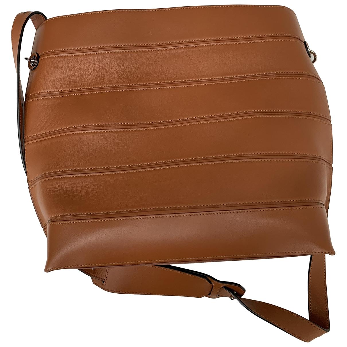 Loewe \N Handtasche in  Kamel Leder