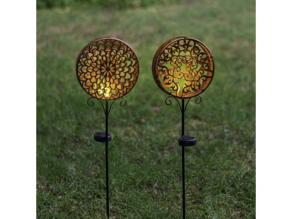 Shadow Stake Solar Led Decorative Light