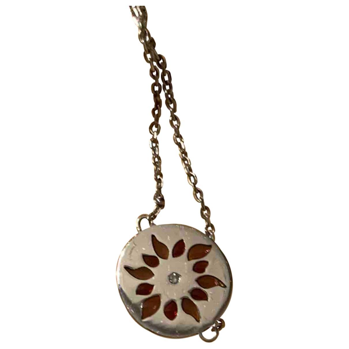 - Bracelet Motifs Etoiles pour femme en or blanc - multicolore