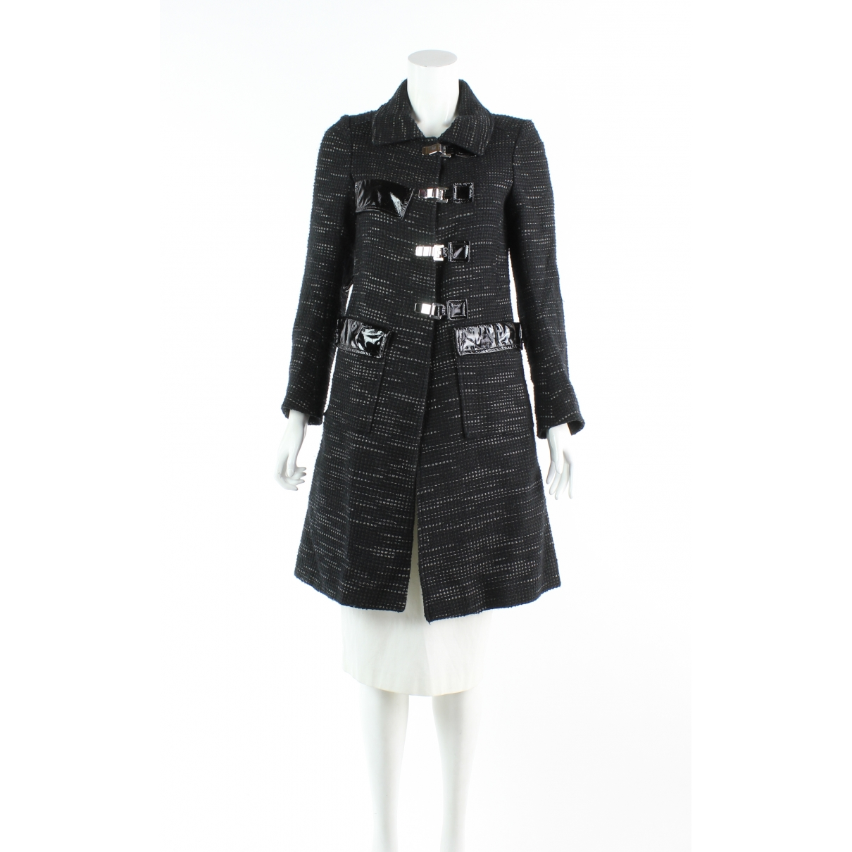 Roland Mouret \N Brown Wool Trench coat for Women 8 US