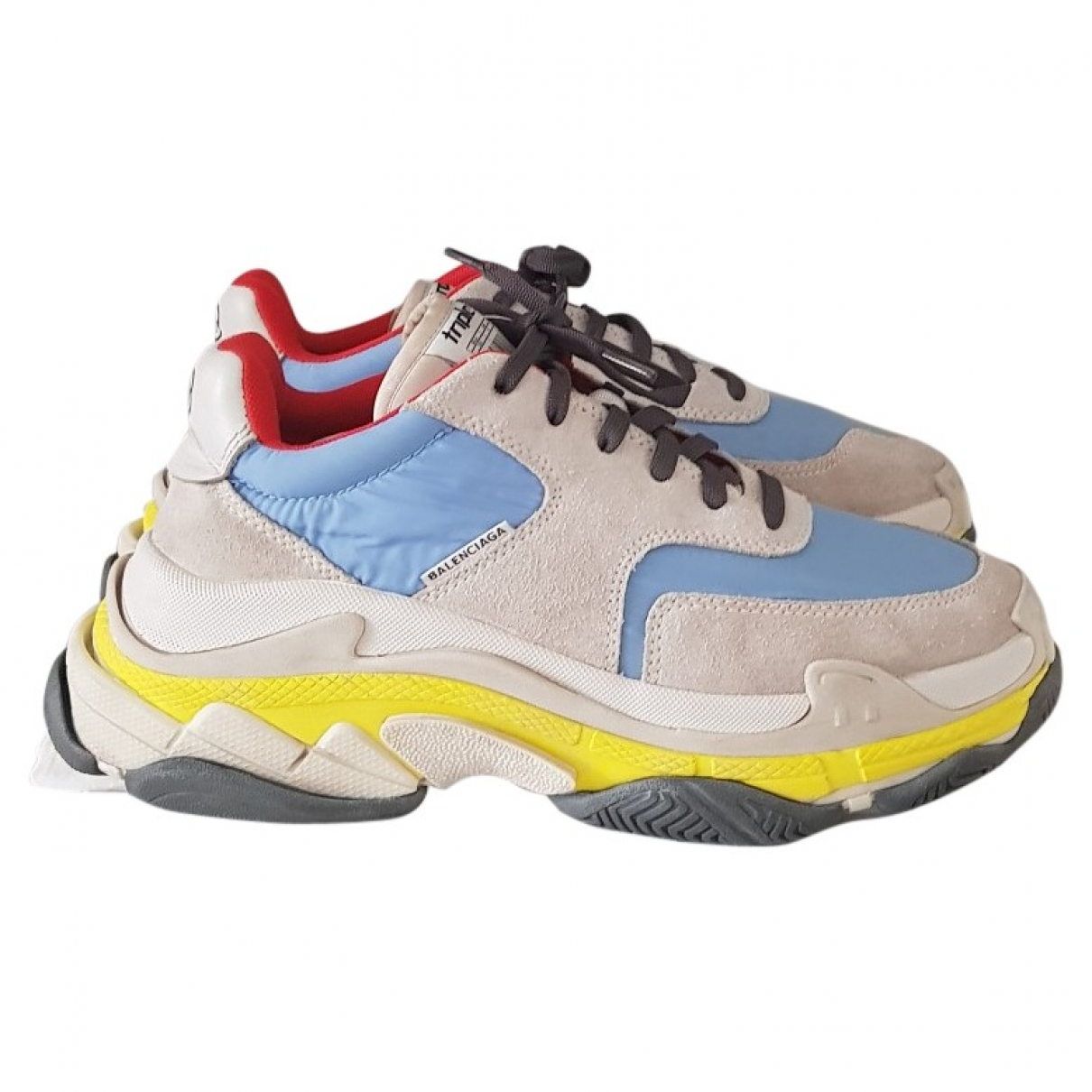 Balenciaga Triple S Multicolour Cloth Trainers for Women 39 EU