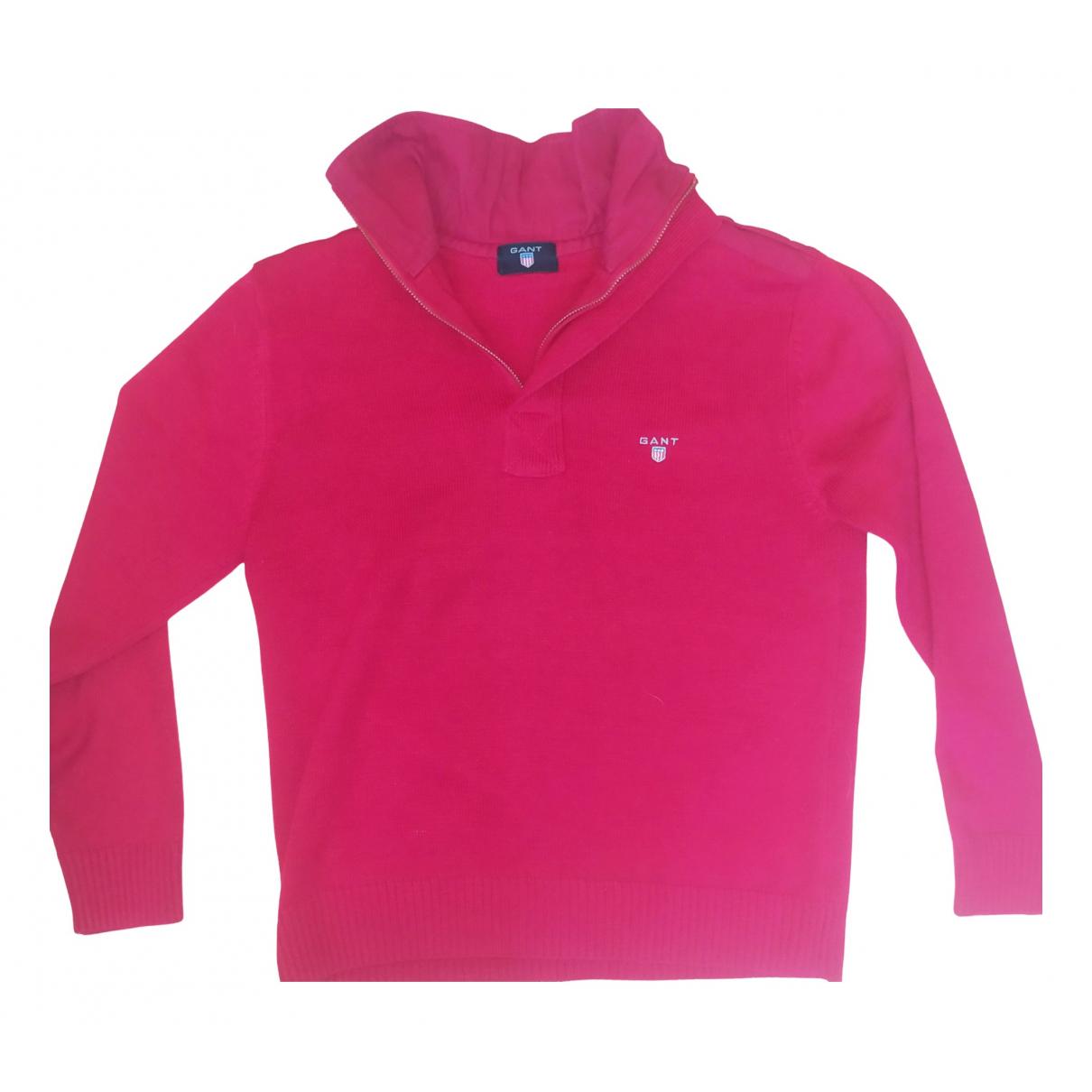 Gant - Pulls.Gilets.Sweats   pour homme en coton - rouge