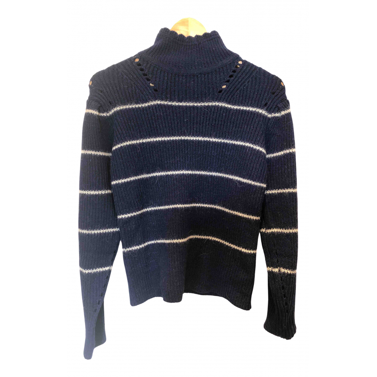 Isabel Marant Etoile \N Pullover in  Marine Wolle