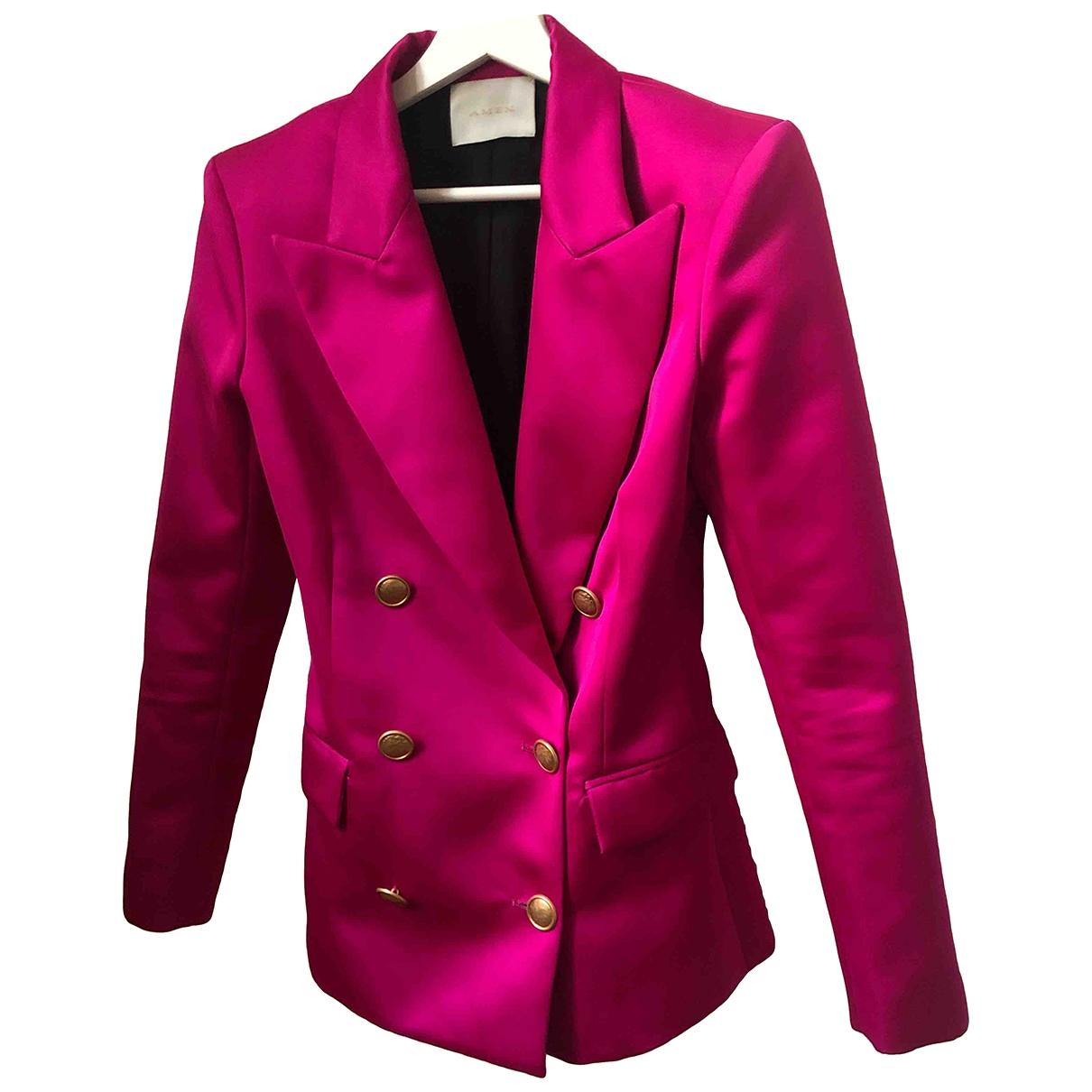 Amen Italy \N Pink jacket for Women 40 IT