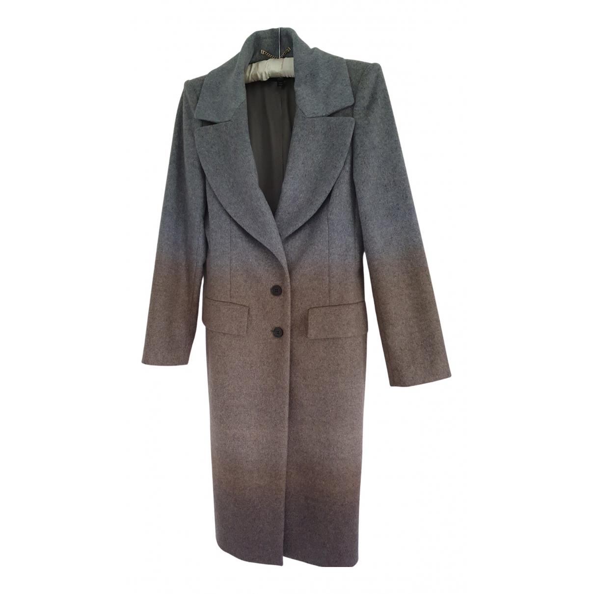Boss - Manteau   pour femme en laine - gris