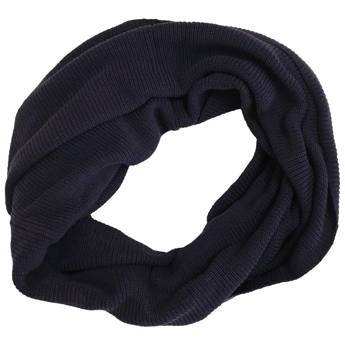 Cos - Foulard   pour femme en coton - bleu