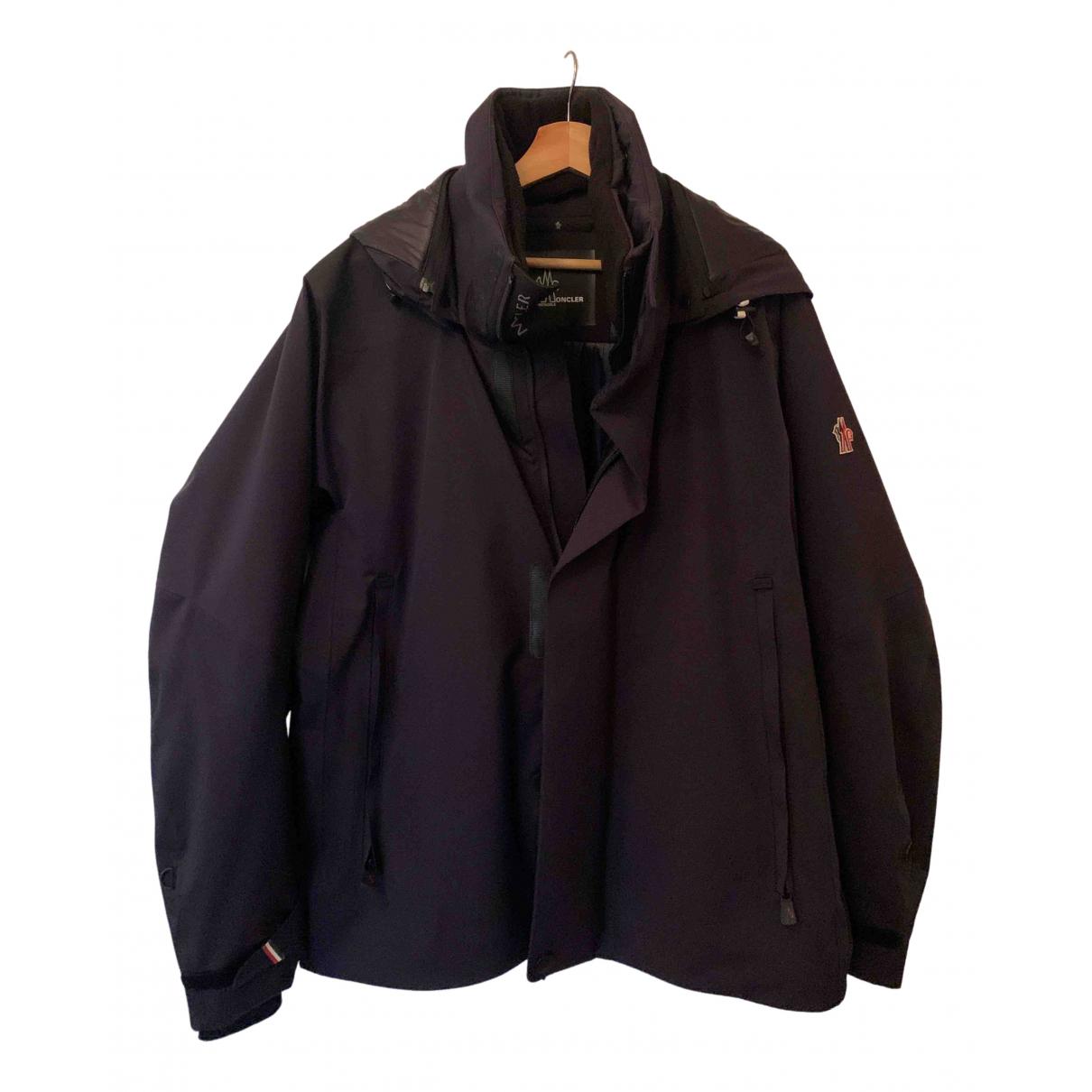 Moncler Grenoble Navy coat  for Men 5 0 - 6