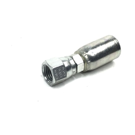Weatherhead 06904E604 - Hydraulic Hose Fitting, Screwable, Pk5