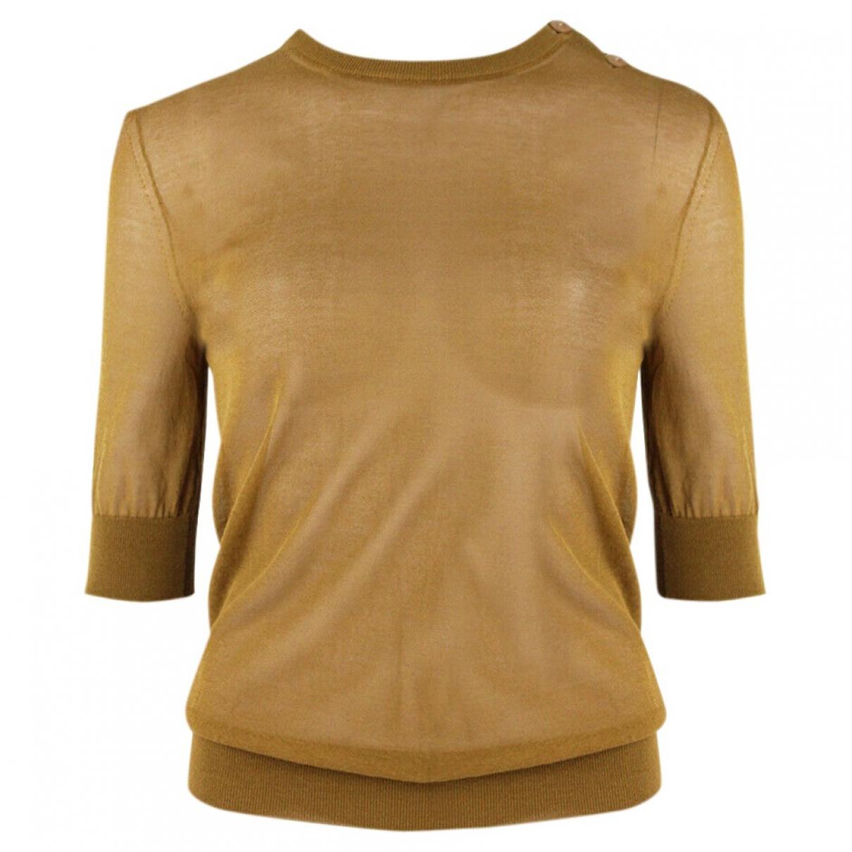 Nina Ricci \N Camel Cotton Knitwear for Women XS International
