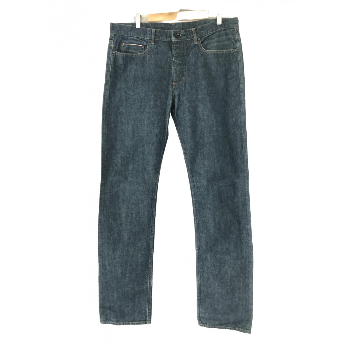 Giuliano Fujiwara \N Blue Cotton Jeans for Men 34 US