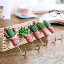 Haken mit zufaelligem Kaktus Muster 1pc