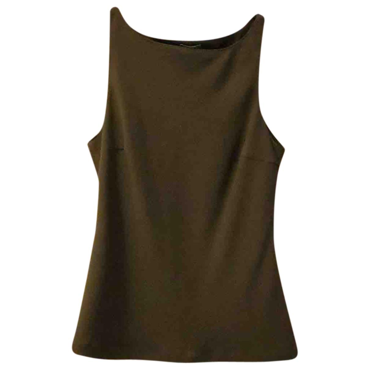 Benetton - Top   pour femme - gris