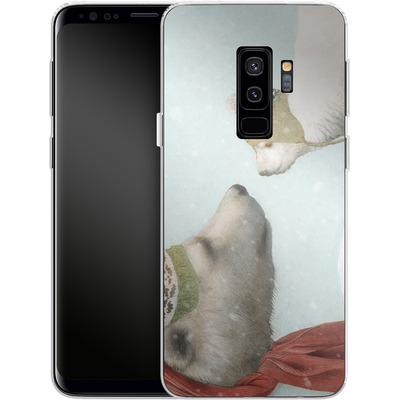 Samsung Galaxy S9 Plus Silikon Handyhuelle - First Winter von Eric Fan