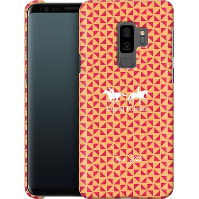 Samsung Galaxy S9 Plus Smartphone Huelle - Triangle Silhouette von Ingrid Klimke