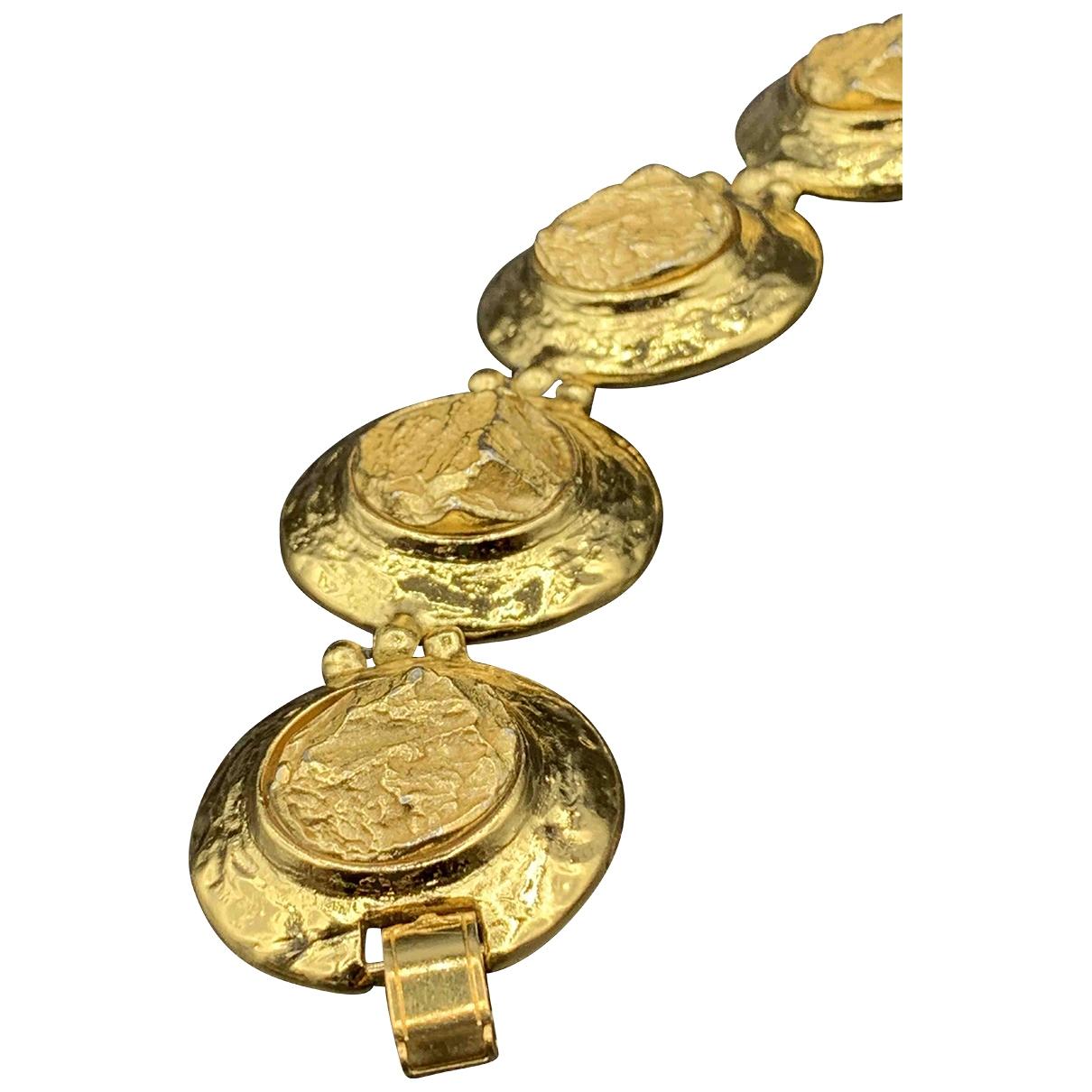 Yves Saint Laurent \N Gold Metal bracelet for Women \N