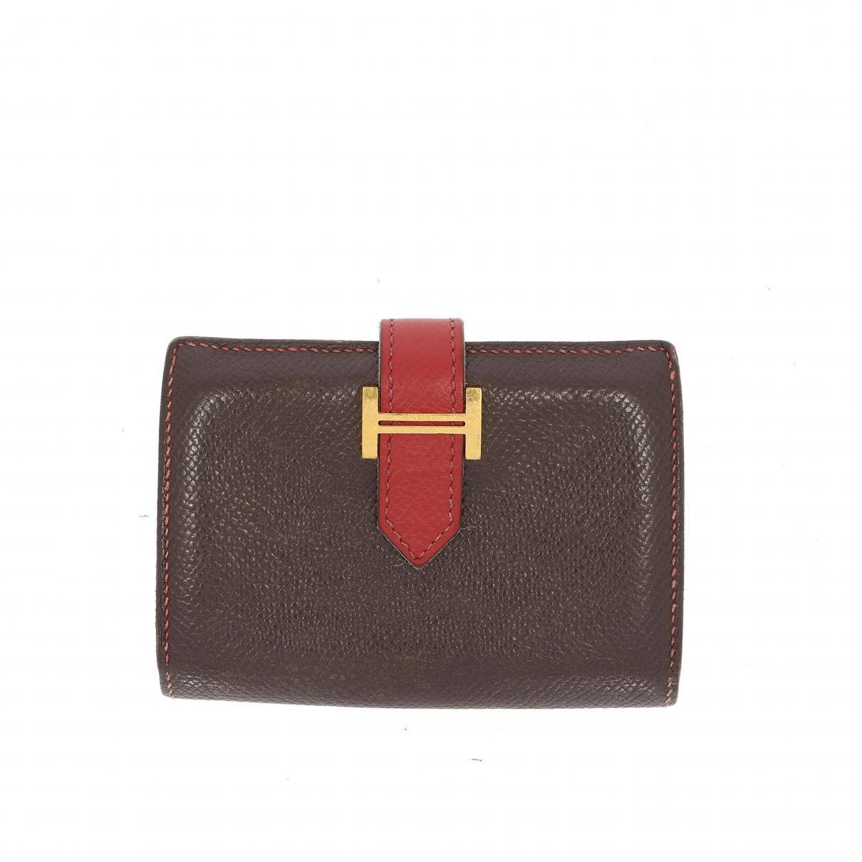 Hermes - Petite maroquinerie   pour femme en cuir - multicolore