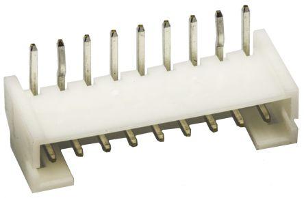 JST , PH, S9B, 9 Way, 1 Row, Right Angle PCB Header (5)