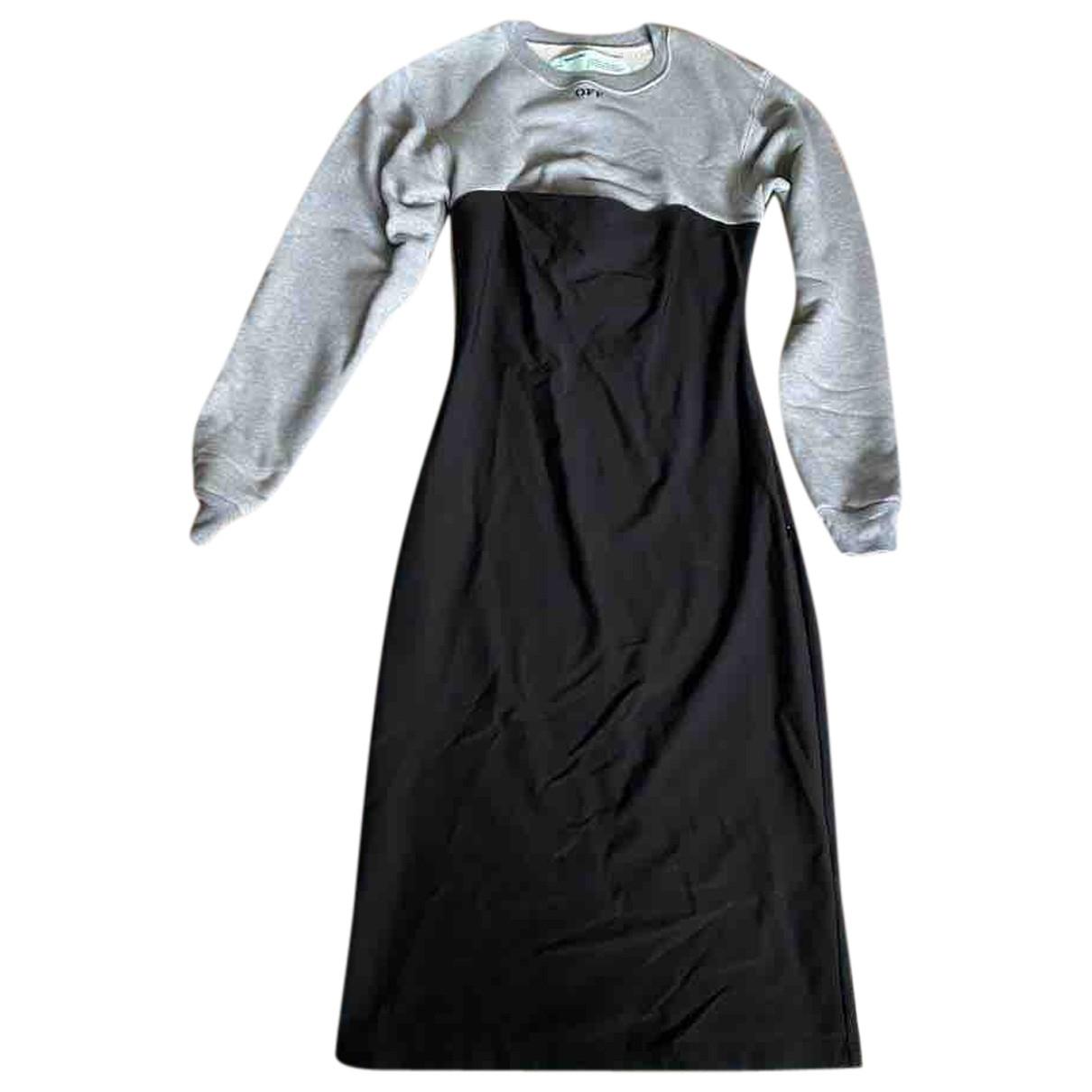Off-white - Robe   pour femme - gris