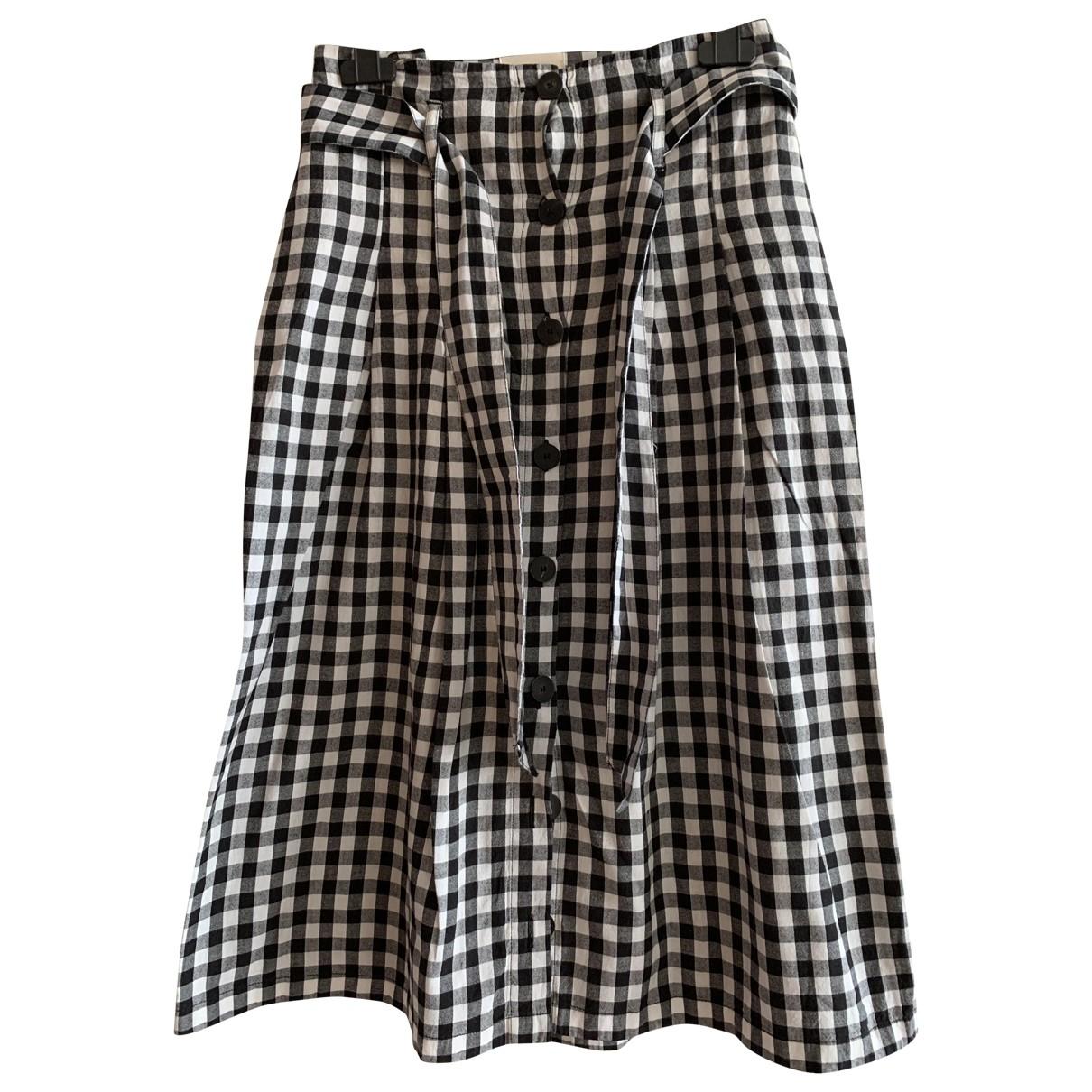 Sezane - Jupe Spring Summer 2019 pour femme en coton - noir