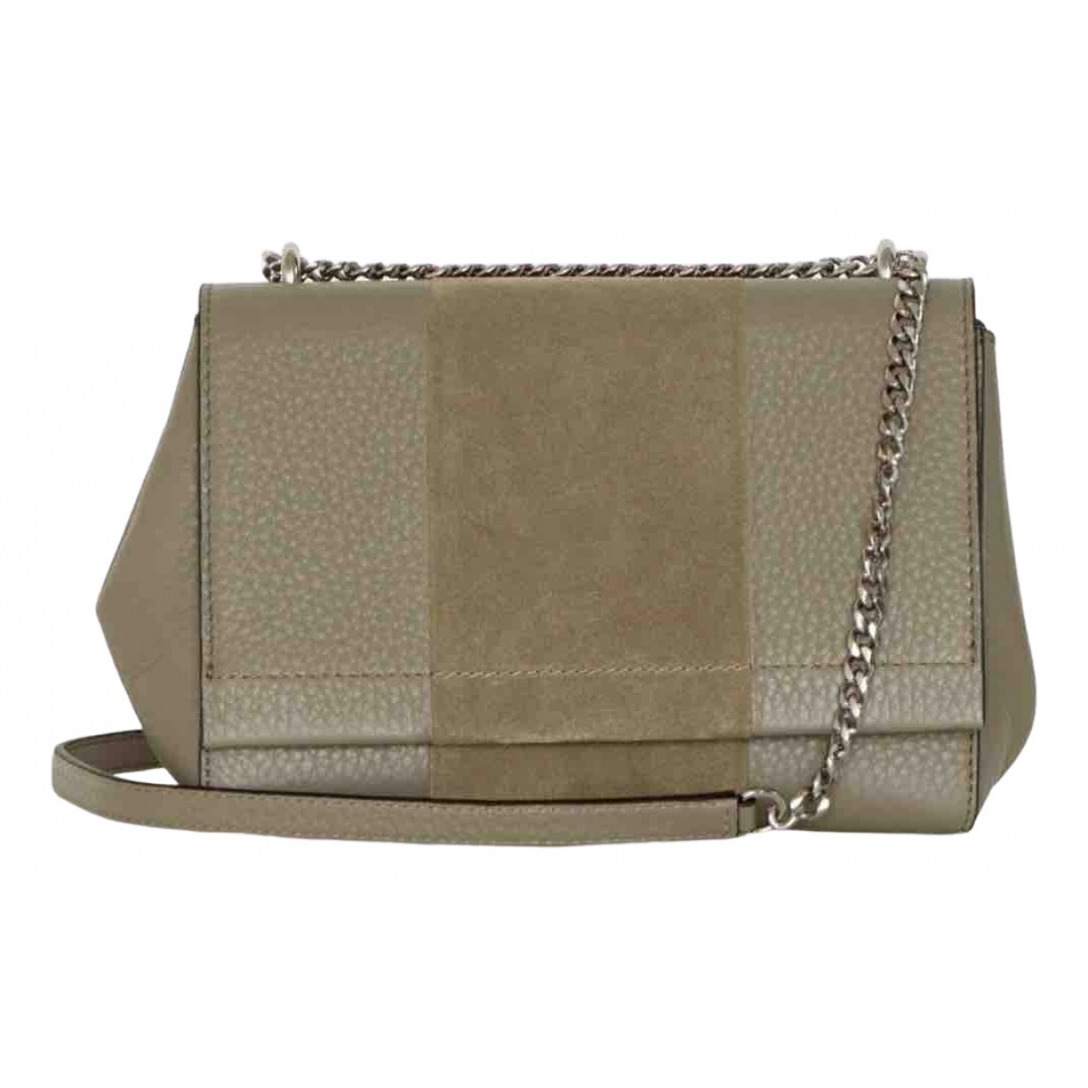 Decadent Copenhagen \N Khaki Leather handbag for Women \N