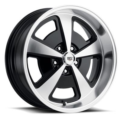 109 Magnum 18X8 5X114.3 0MM Machined/Gloss Black Machined Aluminum Wheels 109 Classic Magnum Series REV Wheels 109MB-8806500