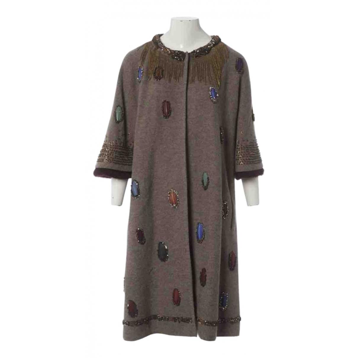 Maurizio Pecoraro \N Wool coat for Women 46 IT