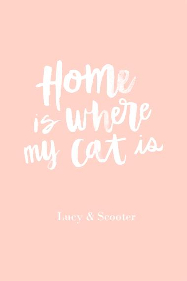 Non-Photo 20x30 Poster, Home Décor -Home Cat
