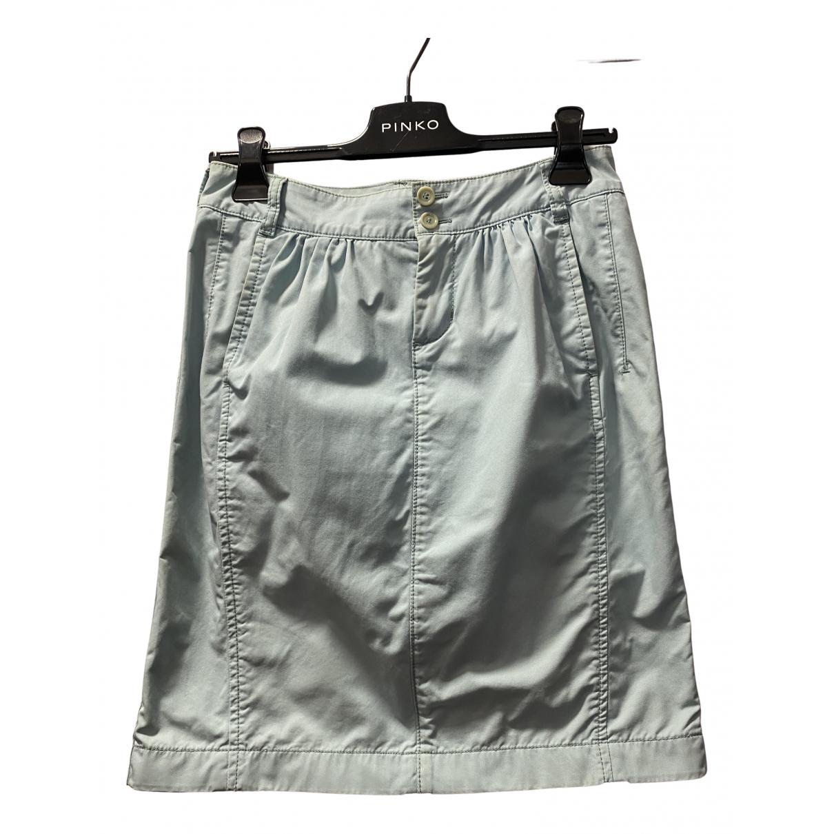 Boss N Blue Cotton skirt for Women 36 FR