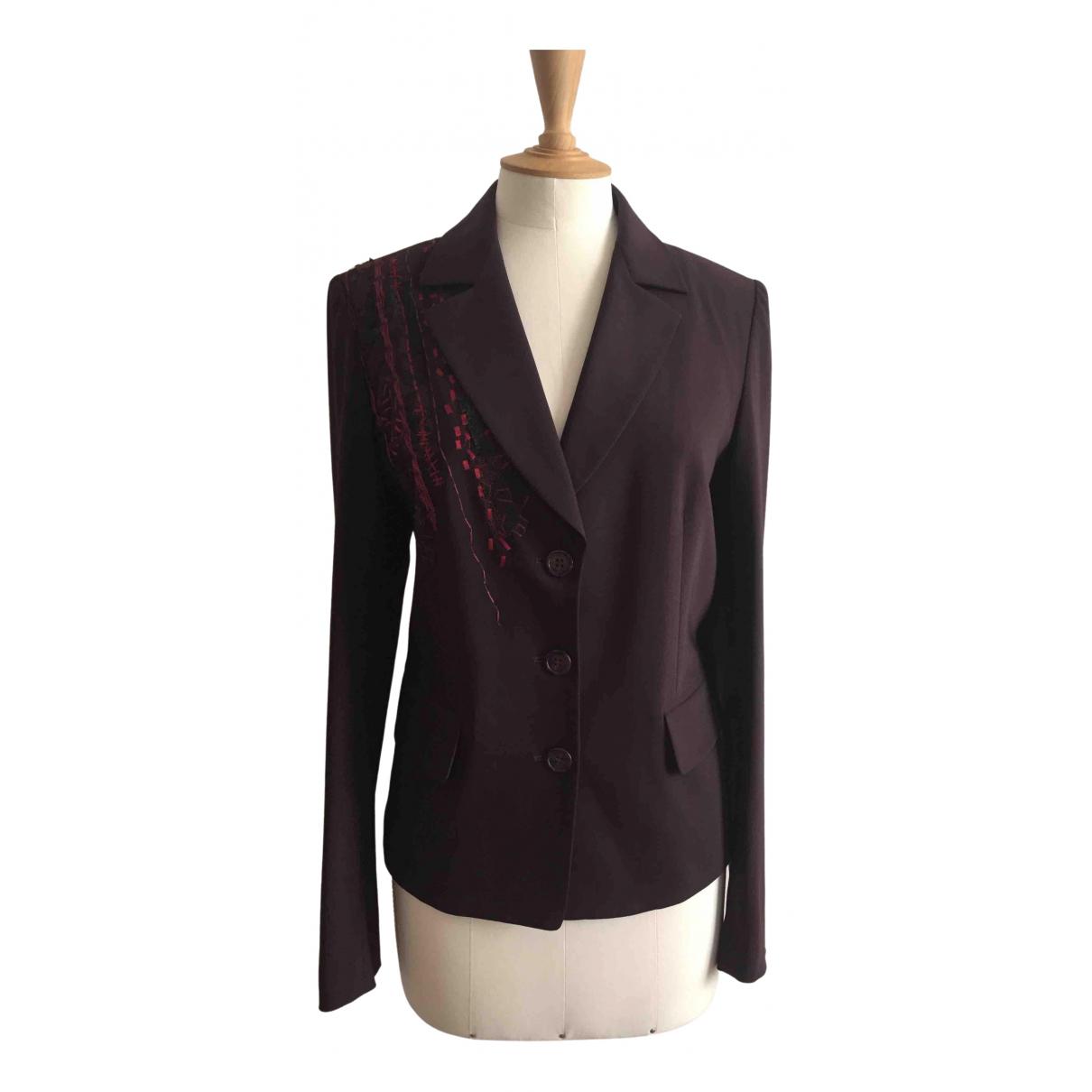 Christian Lacroix - Veste   pour femme en laine - violet
