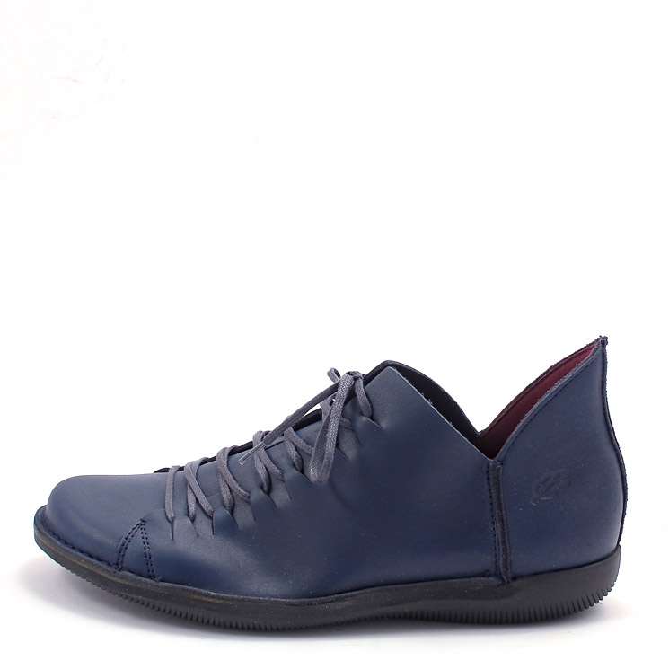 Loints of Holland, 68066 Natural Womens Lace-Up Shoes, dark blue Größe 40