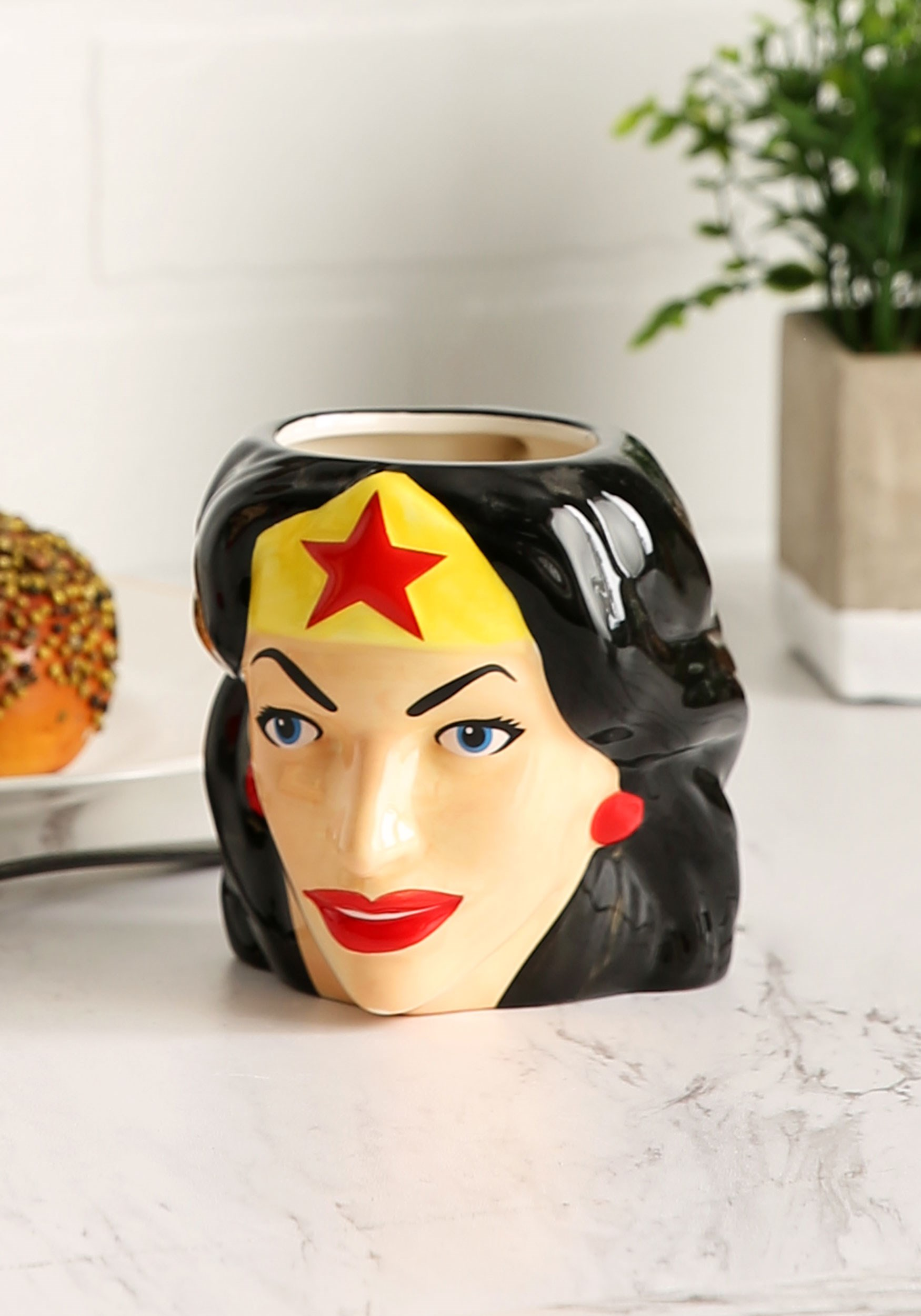DC Wonder Woman Ceramic Sculpted Mug