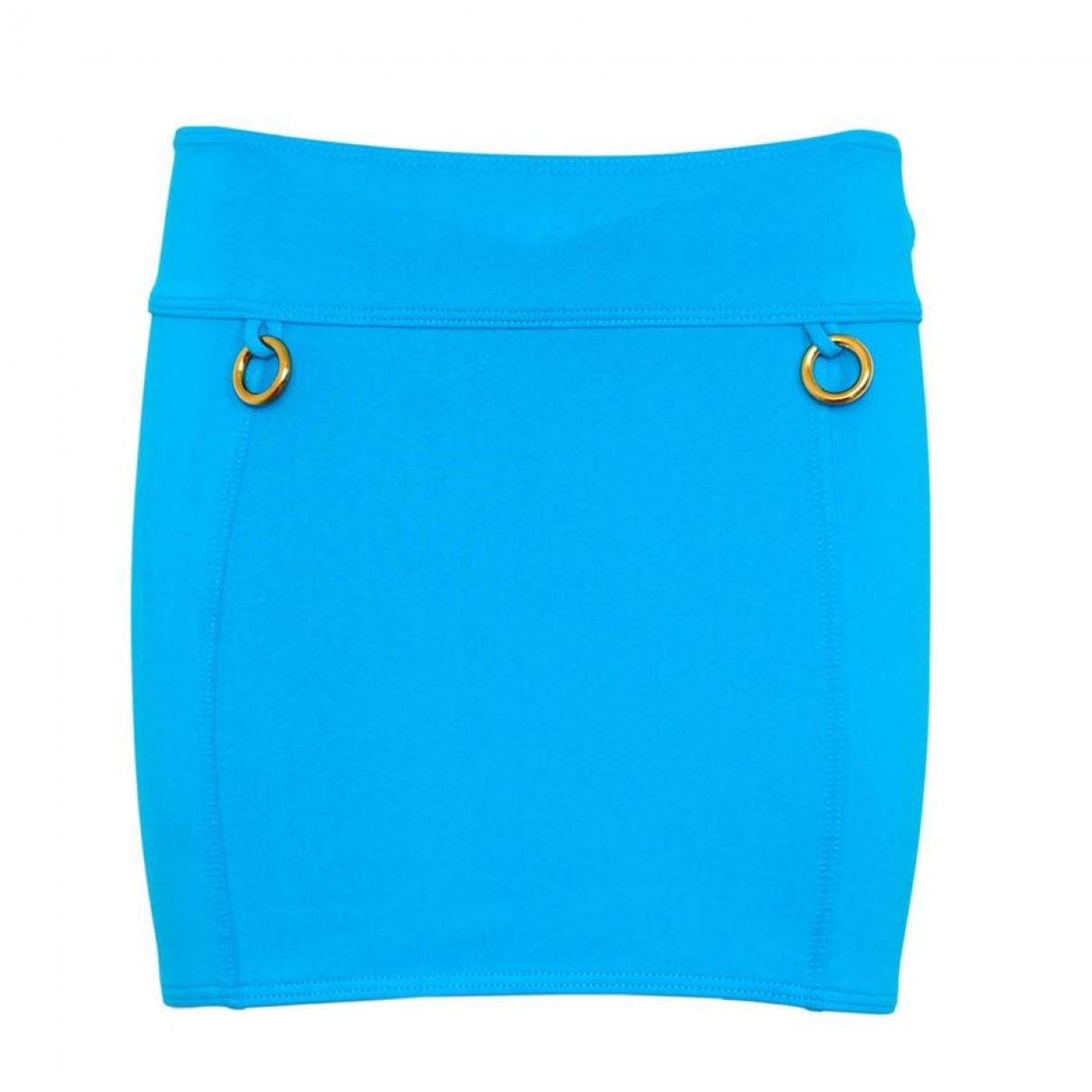 Hermes - Jupe   pour femme - bleu