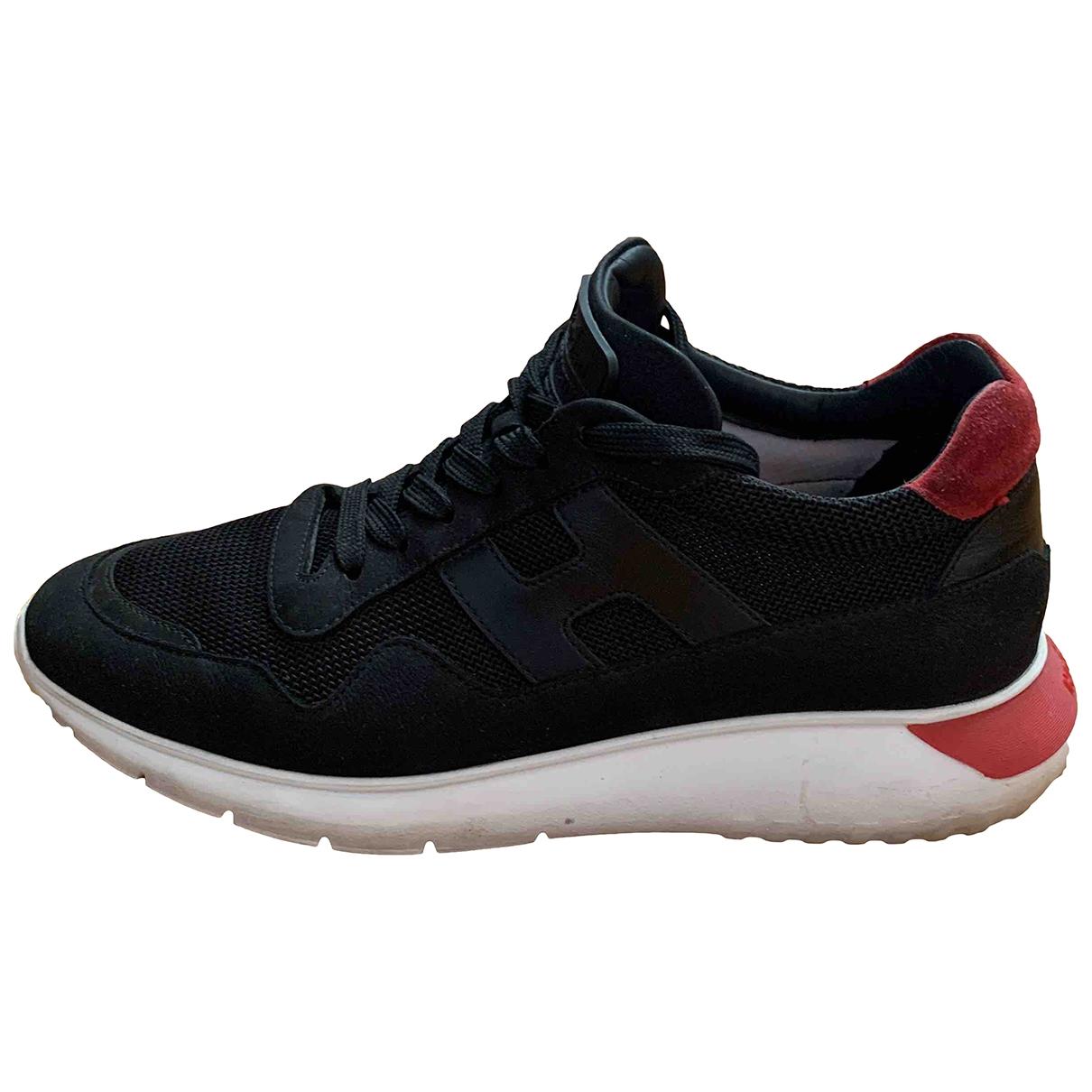 Hogan \N Sneakers in  Schwarz Leinen