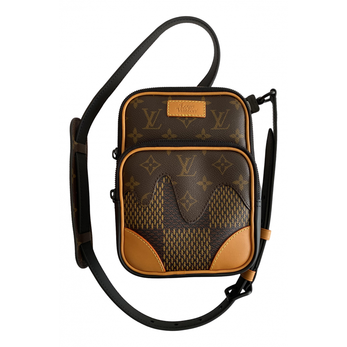 Louis Vuitton X Nigo - Petite maroquinerie   pour homme en toile - marron