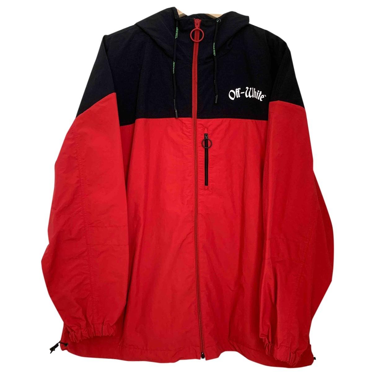 Off-white \N Red jacket  for Men S International