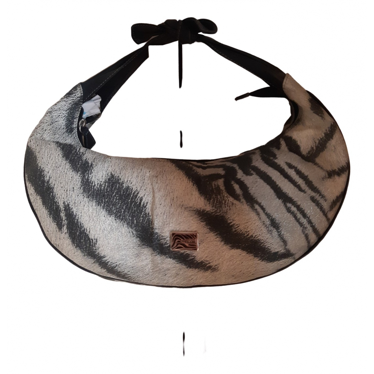 Roberto Cavalli N Grey Cloth handbag for Women N