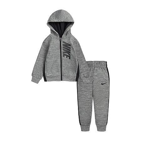 Nike Toddler Boys 2-pc. Pant Set, 4t , Gray