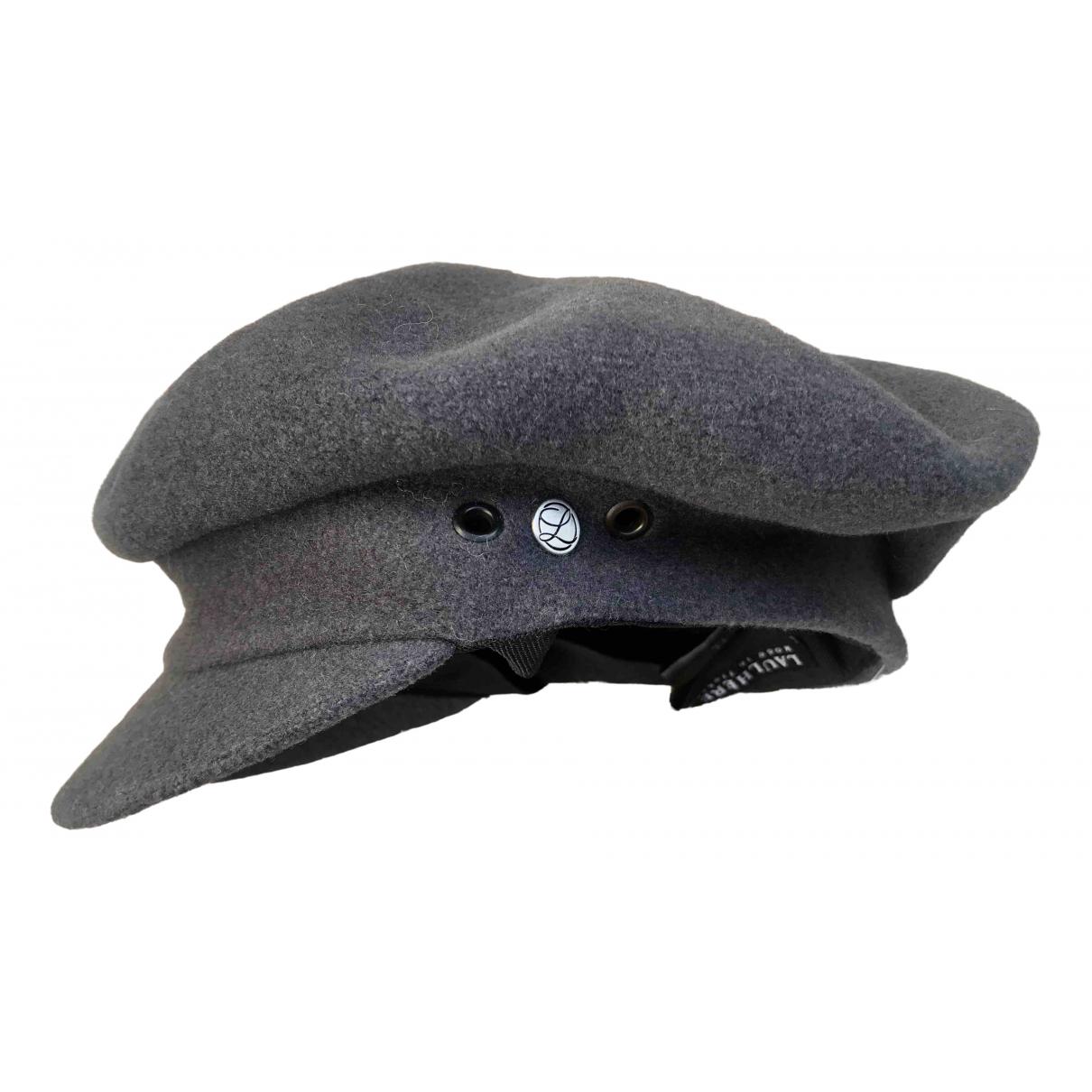 Laulhere - Chapeau   pour femme en laine - gris