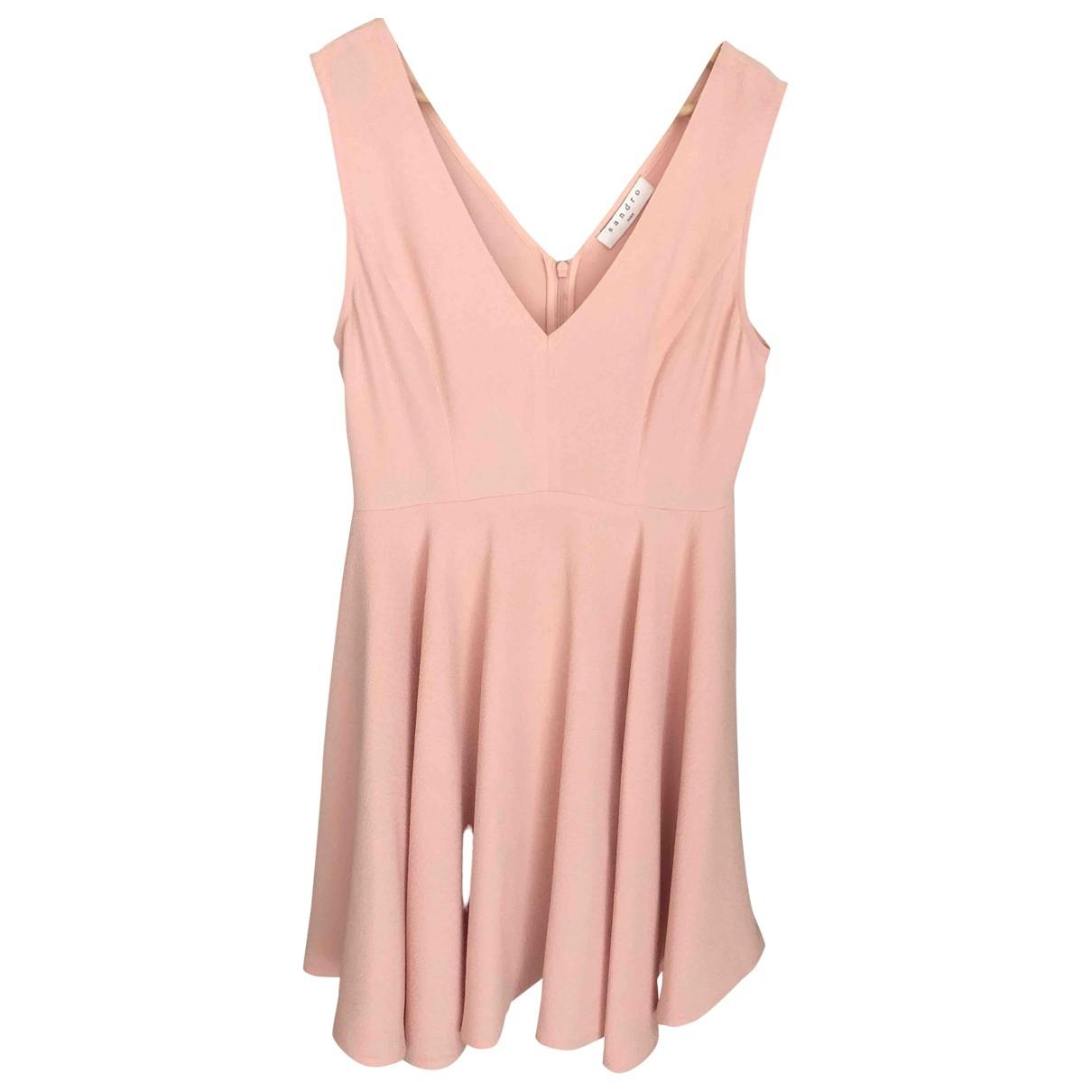 Sandro Spring Summer 2019 Pink dress for Women 38 FR