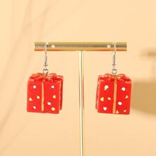 Christmas Gift Drop Earrings