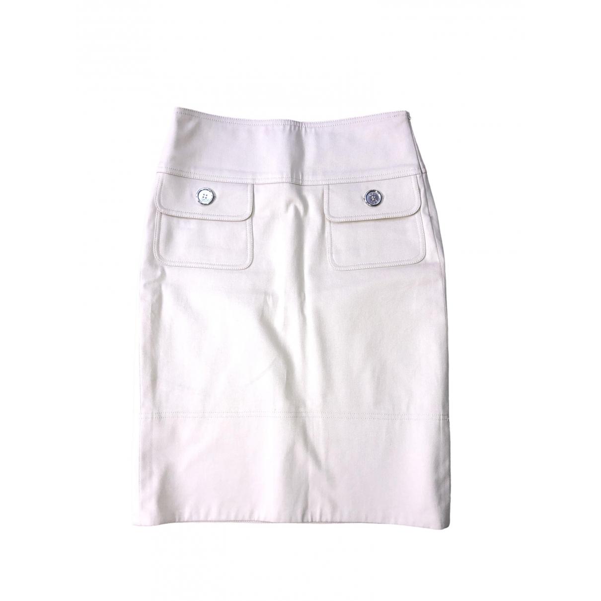 Burberry \N Beige Cotton skirt for Women 4 UK