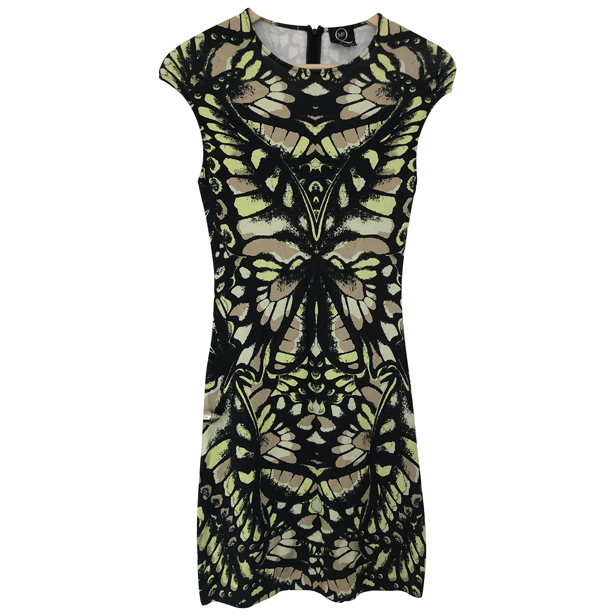 Mcq \N Multicolour Cotton - elasthane dress for Women S International