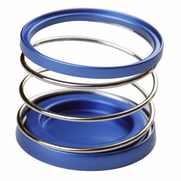 Car Cup Holder Bottle Bracket Car Interior Accessories Blue Sliver 84*70mm